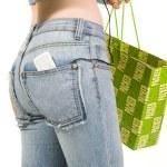 Shopping girl — Stock Photo #5727381