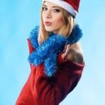 Lovely Christmas girl — Stock Photo #5727490