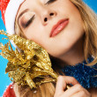 Christmas girl - Foto Stock