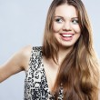 Portrait of a pretty young woman — Stock Photo #5728262