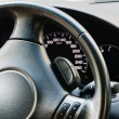 Royalty-Free Stock Photo: Steering wheel and dashboard
