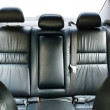 Back passenger seats in a car — Stock Photo