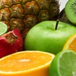 Group of fresh fruits — Stock Photo #5728879