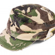 Camouflage cap - Stock Photo