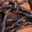 Stock Photo: Shoelaces cloesup photo