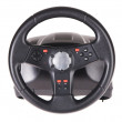 Gaming steering wheel — Stock Photo