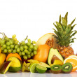 Plenty of fresh fruits — Stock Photo #5729429