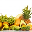 Plenty of fresh fruits - Stock Photo
