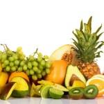 Plenty of fresh fruits — Stock Photo #5729430