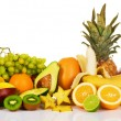 Stock Photo: Assortment of exotic fruits