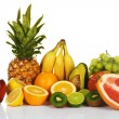 Assortment of exotic fruits — Stock Photo #5729436
