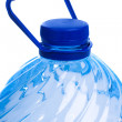 Water bottle isolated on white — Stock Photo