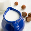 Calcium rich products - Stock Photo
