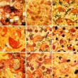 Royalty-Free Stock Photo: Pizza set