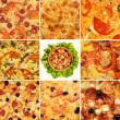 Pizza set — Stockfoto