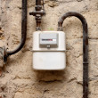 Stock Photo: Gas meter