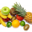 Colorful fresh fruits - Stock Photo