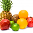 Group of fresh fruits — Stock Photo #5729640