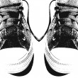 Royalty-Free Stock Photo: Pair of sneakers