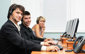 Customer service office — Stock Photo