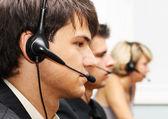 Klient usługi operatorów — Zdjęcie stockowe
