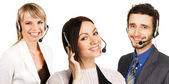 Customer service professional — Stock Photo