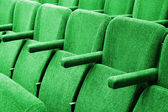 Empty cinema auditorium background — Stock Photo