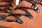 Closeup photo of shoelaces — Stock Photo