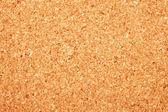 Corkboard texture closeup photo — Stock Photo