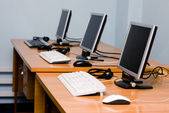 Office or training centre interior — Stock Photo