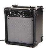 Electric guitar amplifier — Stock Photo
