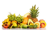 Plenty of fresh fruits — Stock Photo