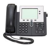 白で隔離される ip 電話 — ストック写真