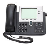 IP Phone isolated on white — Stok fotoğraf