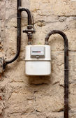 Gas meter — Stock Photo