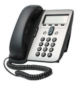 VoIP Phone isolated on white background — Stock Photo