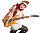 Christmas tunes — Stock Photo