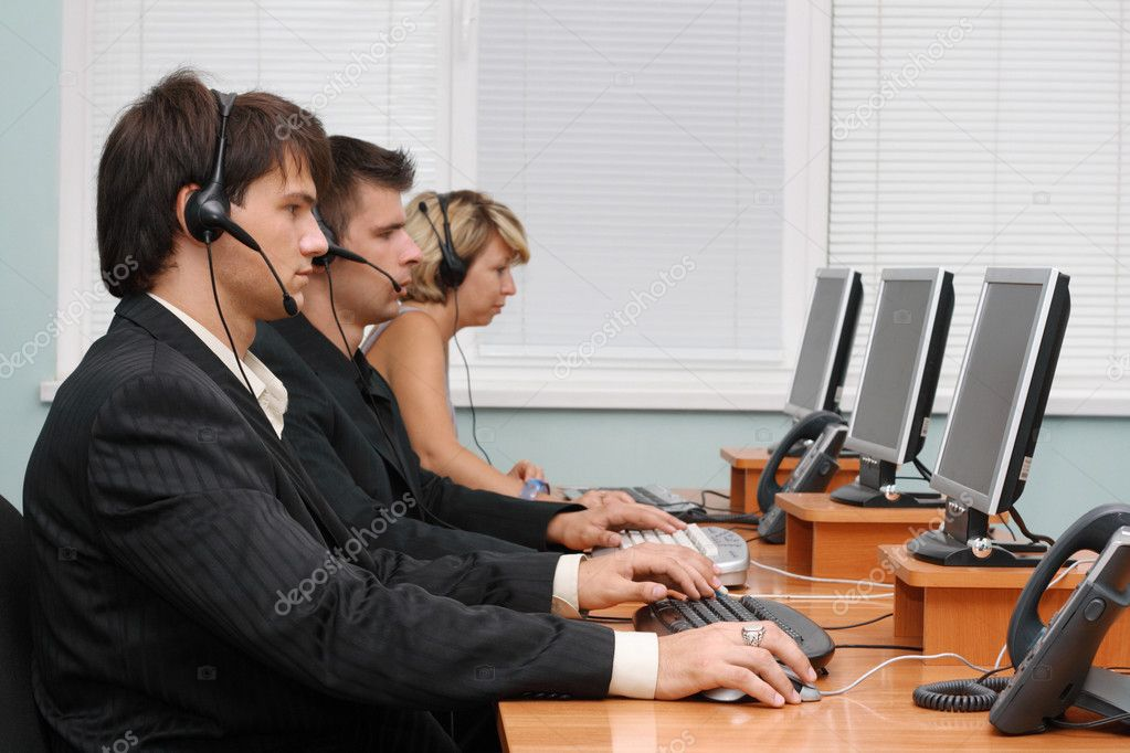 Customer service team  Stock Photo #5726762