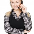 Call center professional - Stock Photo