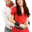 Happy young couple — Stock Photo #5757989