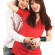 Happy young couple — Stock Photo #5757991