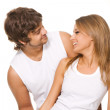 Beautiful young couple — Stock Photo #5758232