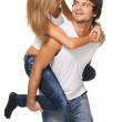 Beautiful young couple — Stock Photo