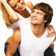 Beautiful young couple — Stock Photo #5758252