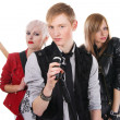 Teenage rock band - 