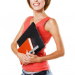Stock Photo: Lovely student