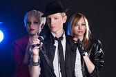 Banda de rock adolescente — Foto de Stock