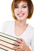 本での素敵な学生 — ストック写真