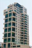 Modern urban building exterior — Stock Photo