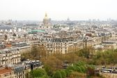 View of Paris and Les Invalides — Stock Photo